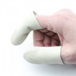 Leather finger protectors -...