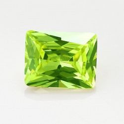 Cubic Zirkonia Apple Green...