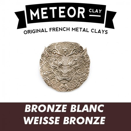 Meteor Clay Bronze Blanc, ultrafine