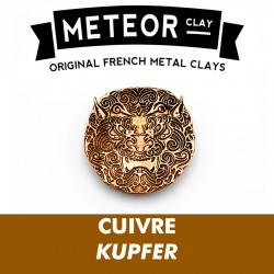 Meteor Clay Cuivre, ultrafine