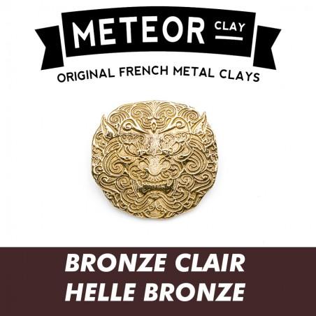 Meteor Clay Bronze Clair, ultrafine