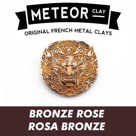 Meteor Clay Bronze Rose, ultrafine