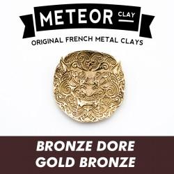 Meteor Clay Bronze Doré,...