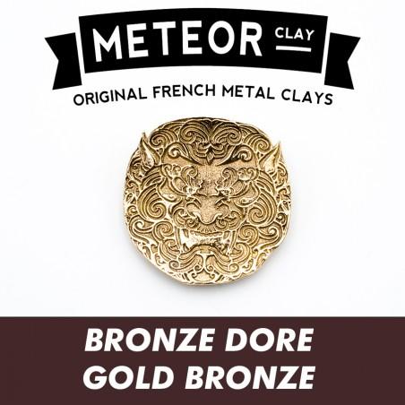 Meteor Gold Bronze Clay, ultrafine