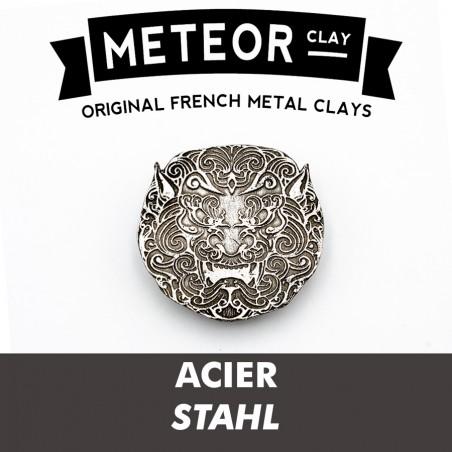 Meteor Clay Acier, premium