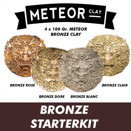 Meteor Bronze Clay Starterkit