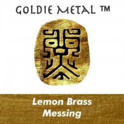 Goldie Lemon Brass Clay