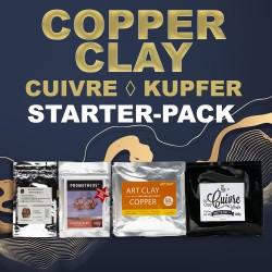 Kupfer Clay Starter-Pack