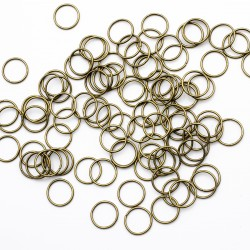 Jump rings round 12 mm in...