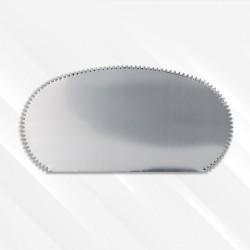 Couteau pour pâte d'argent (grattoir), forme 2
