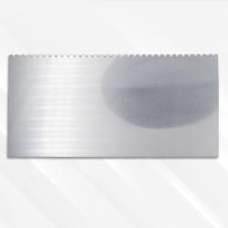 Couteau pour pâte d'argent (grattoir), forme 8