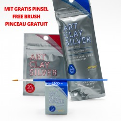 Art Clay Silber Bundle mit gratis Pinsel