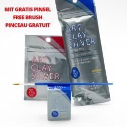Bundle Art Clay Silver avec pinceau gratuit