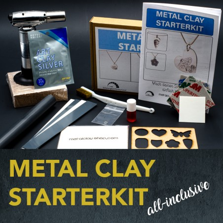 Metal Clay Silver Starterset All-Inclusive