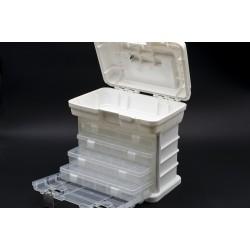 Rayher Tragebox mit 4 Sortimentskästen