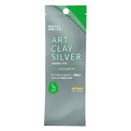 Pâte d'argent 5 gr. Art Clay Silver seringue sans embout