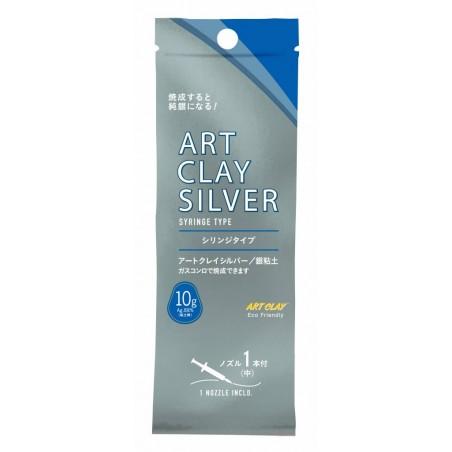 Pâte d'argent 10 gr. Art Clay Silver seringue avec 1 embout