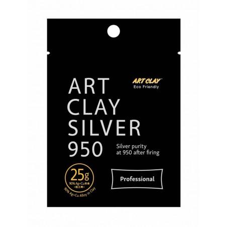 Pâte d'argent 25 gr. Art Clay Silver 950