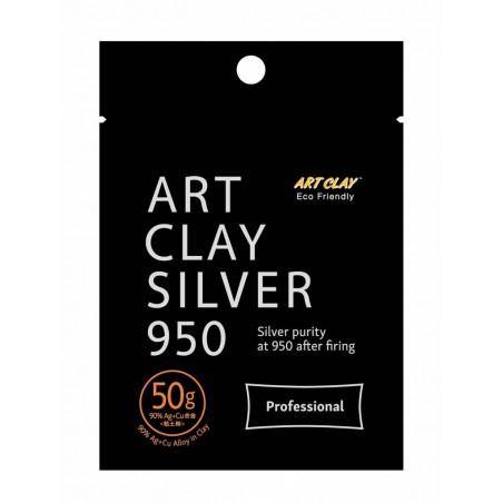 Pâte d'argent 50 gr. Art Clay Silver 950