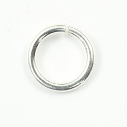 Jump ring 7 mm sterling silver