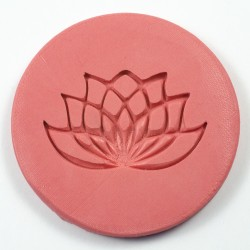 Lotus flower silicone mould
