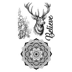 Cosmos Deer - Stamperia