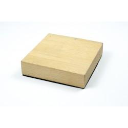 Bloc de dapping en bois