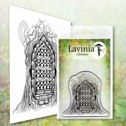Forest temple LAV611 stamp...