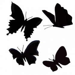 Butterflies LAV126 stamp by...