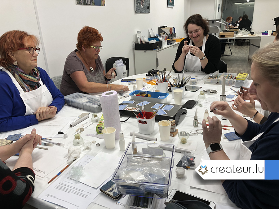 Jewellery class at createur.lu