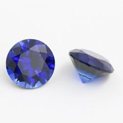 Lab Blue Sapphire - round 2 mm