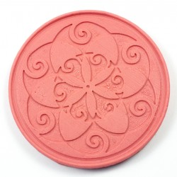 Oriental flower silicone mould