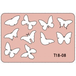 BUTTERFLY Nr 1 Template