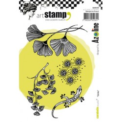 Ginkgo SA60359 Carabelle stamp