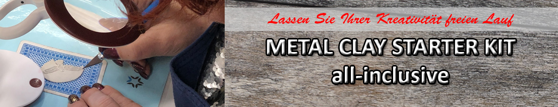 Metal Clay Starterkit all-inclusive