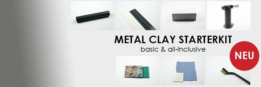 Metal Clay Starterkit all-incl.